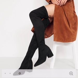 [NEW] ALDO: Froredia Black Over-The-Knee Boots
